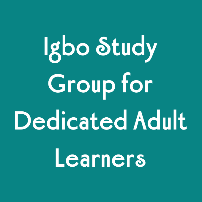 Igbo Study Group