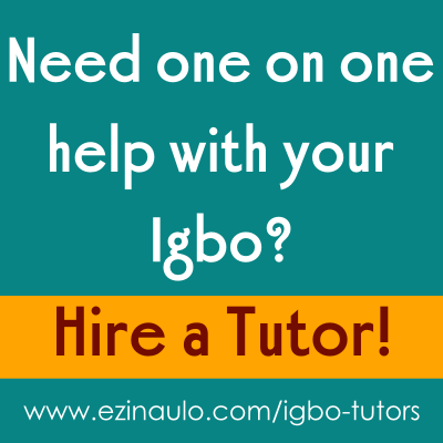 Igbo Tutors