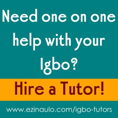 Igbo Tutors