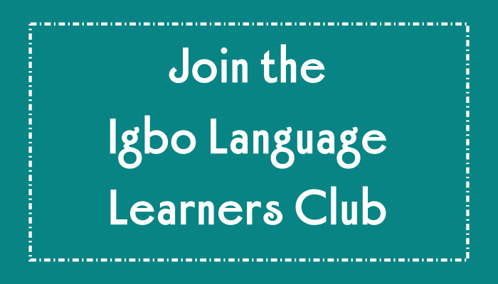 Igbo Learning Community