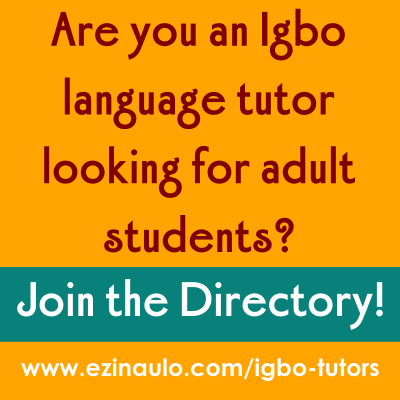 Apply to list your Igbo tutor language services online